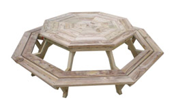 octagon picnic table